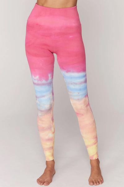 Self Love Legging - Sunrise Dip Dye