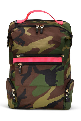 ANDI Backpack - Camo Pop Pink