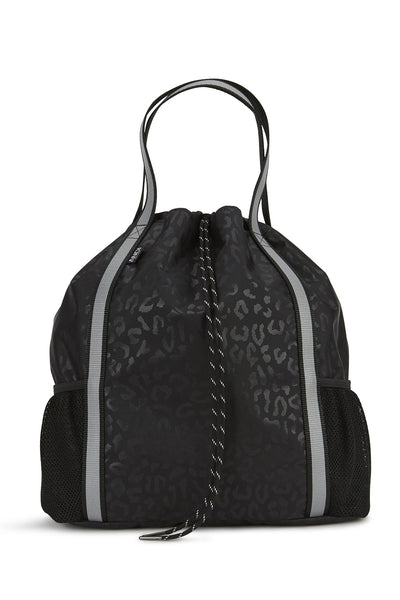 ANDI Studio Backpack - Black Leopard