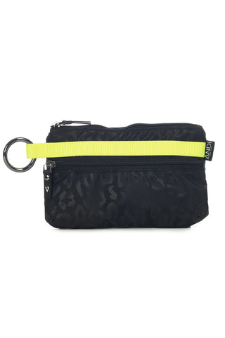 ANDI Urban Clutch - Black Leopard Pop Yellow