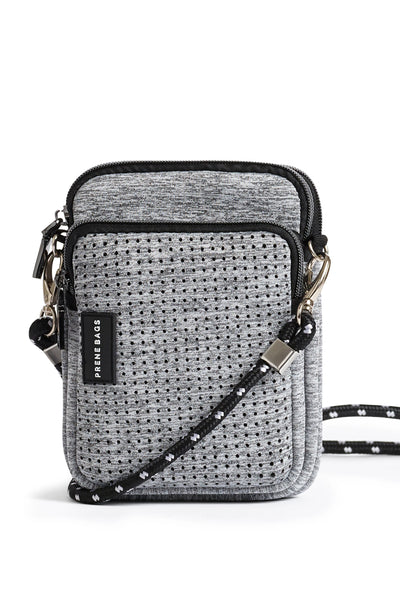 The Mimi Bag - Light Grey Marle