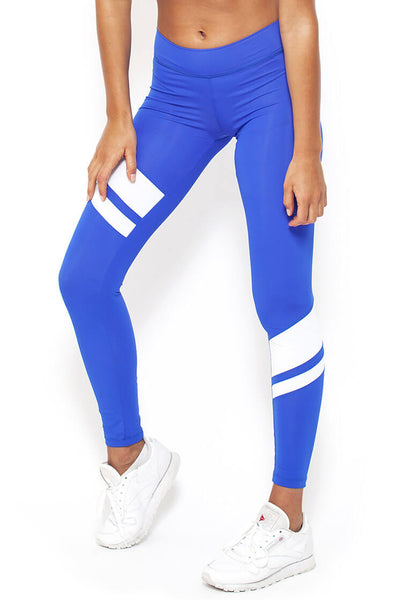 Player Full Length Legging - Blue