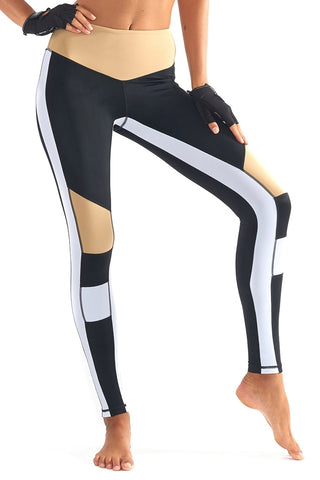 Burn It Up Legging - Black + White
