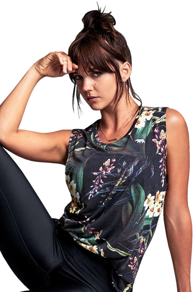 Easy Rider Muscle Tank - Lily of the Valley