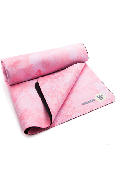 Heavy Duty Travel Yoga Towel - Aster
