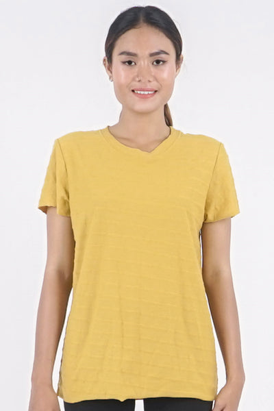 Base-ic Tee - Inca Gold
