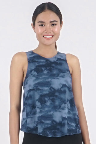 Boss Crop Tank - Night Sky