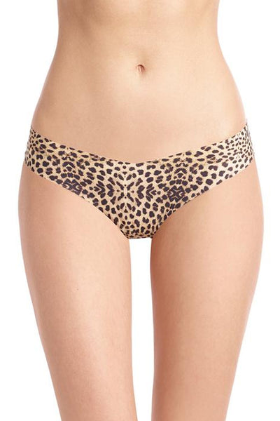 Seamless Thong - Clouded Leopard