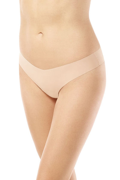 Classic Solid Thong - Beige