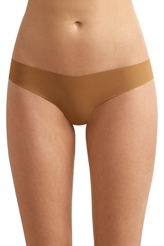 Classic Solid Thong - Caramel