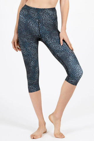 Animal Love High Waist 3/4 Length Legging