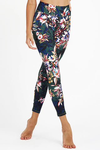 Aurora High Waisted 7/8 Length Legging