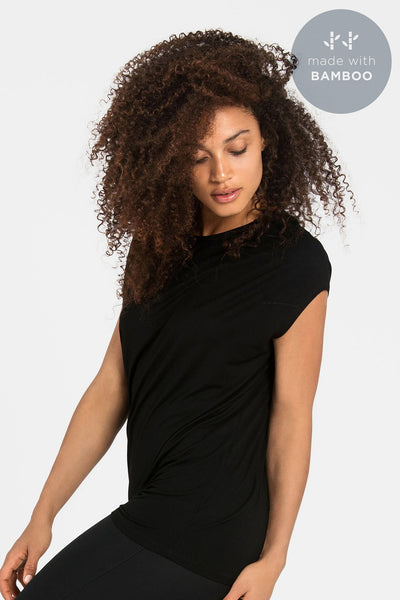 Luxe Layer Top - Black