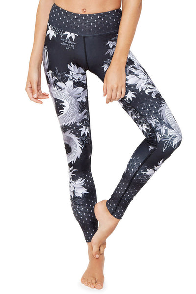 Sassy Dragon High Waisted Full Length Legging