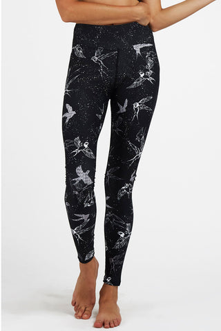 Swallows High Waisted Full Length Legging