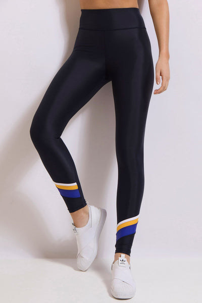 Lay Up Full Length Legging - Darkest Navy