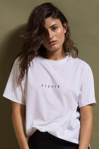 Player Tee - White