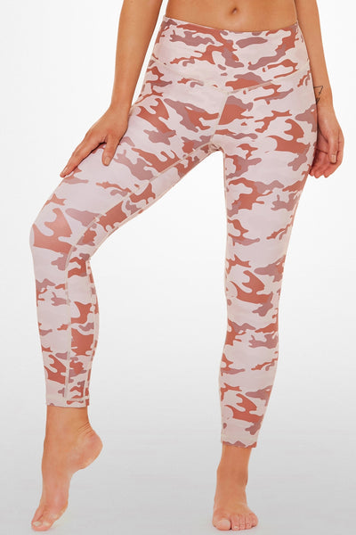 Army Of Love 7/8 Length Legging - Blush