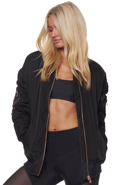 Moving Mountains Bomber - Black