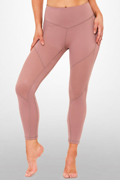 Perfect Landing 3/4 Legging – Dusty Rose
