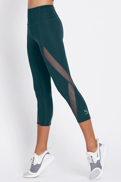 Mesh With Me Tight - Teal Green
