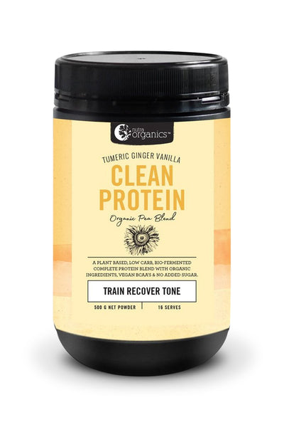 Clean Protein Turmeric Ginger Vanilla - 500g (preorder)