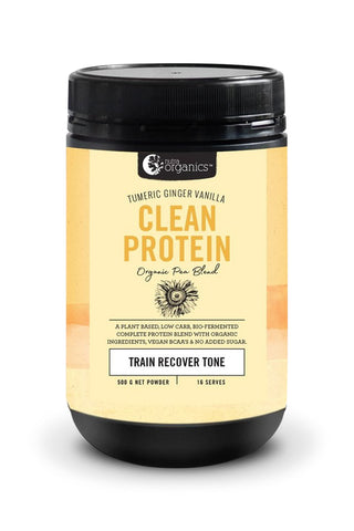 Clean Protein Turmeric Ginger Vanilla - 500g [preorder]