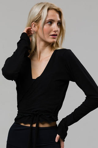 Ballerina Wrap - Black