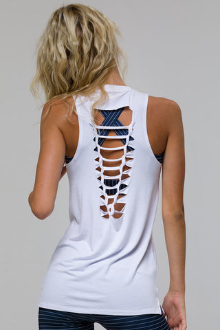 Braid Tank - White