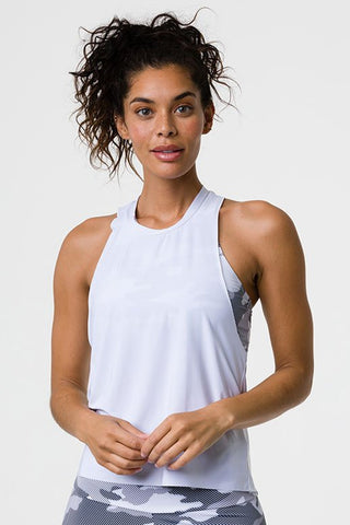 Eagle Tank Top - White