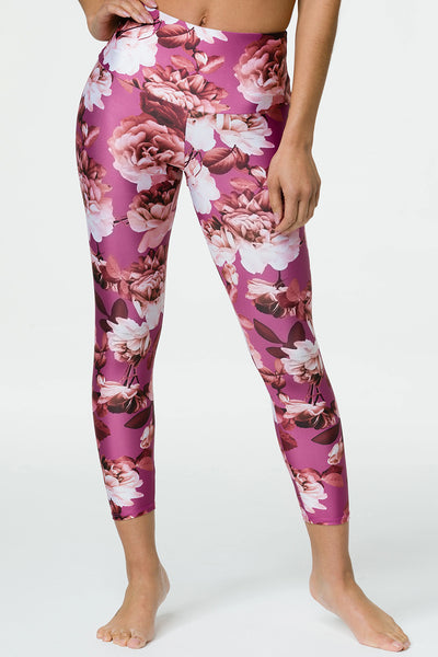 High Basic Midi Legging - Gardenia