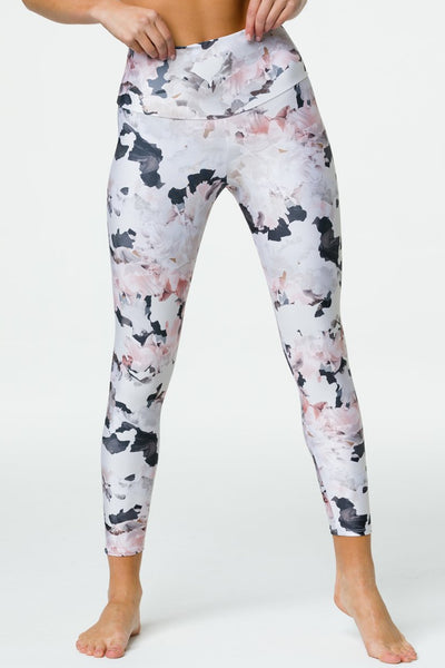 High Basic Midi Legging - Sky Dancer