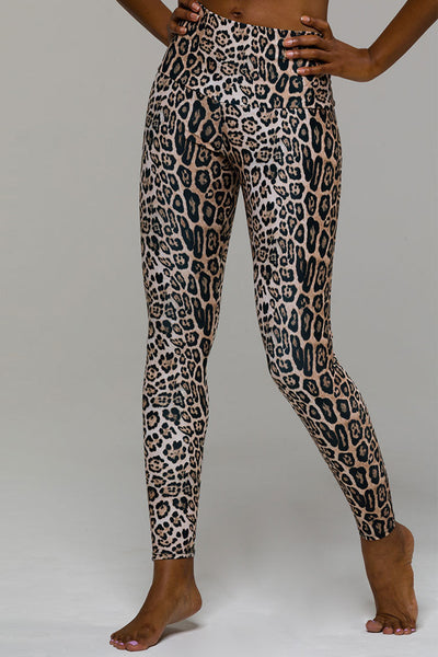 High Rise Legging - Leopard