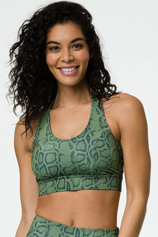 Warrior Bra - Olive Cobra