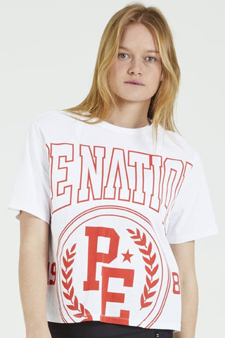 Collegiate Squad Tee - Red