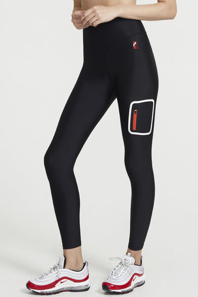 Real Challenger Legging - Black