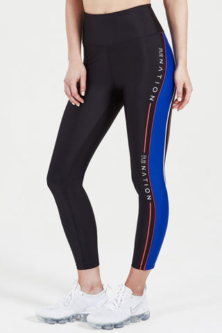 Three Point 7/8 Length Legging