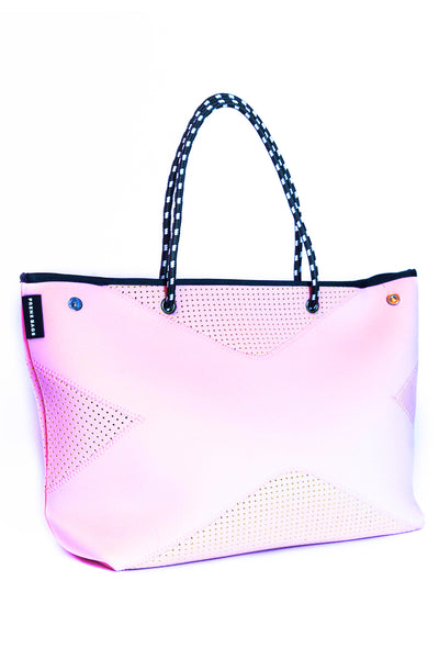 The X Bag Neoprene Tote - Blush Pink