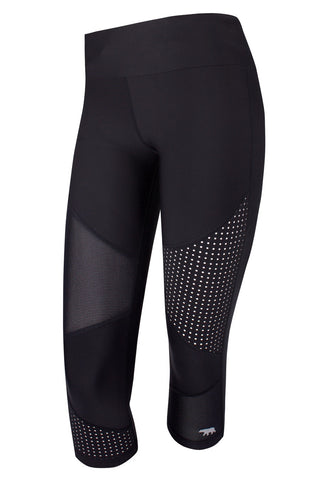 HR TE (Trend Edit) 3/4 Length Tight - Black