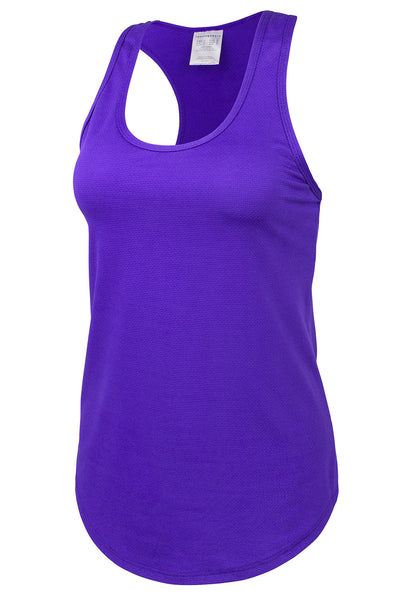 Bionic Revolution Workout Tank - Deep Purple
