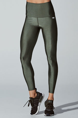 Crystal Studio Full Length Tight - Hunter