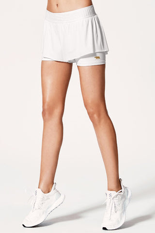 Match Point Short - White