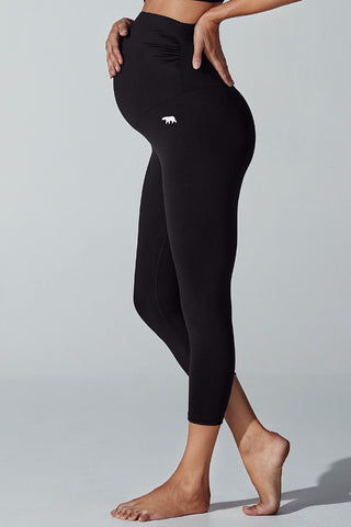 Maternity 7/8 Tight - Black