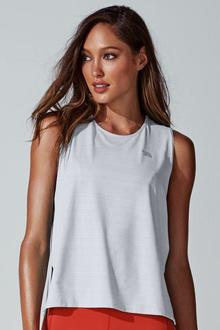 Namaste Workout Tank - White