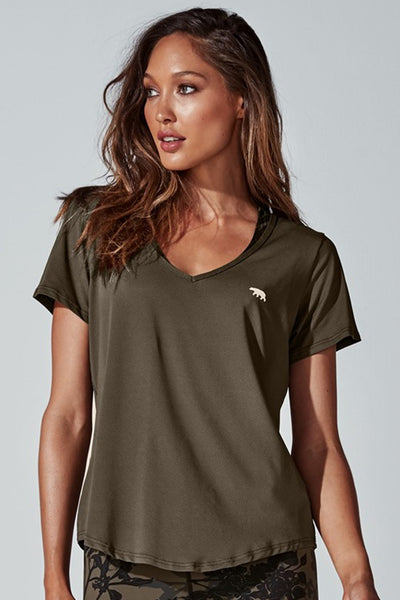 On Your Marks Tee - Olive