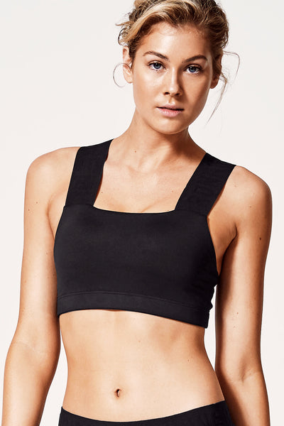 Perfect Form Crop Top - Black