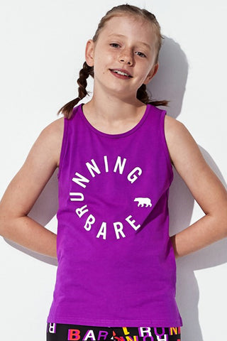 RB Girls Easy Rider Muscle Tank - Duchess
