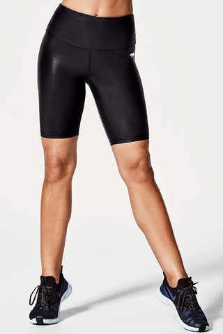 Spin Class Bike Tight - Black Wet