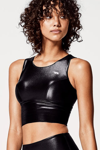 Super Power Crop - Wet Black