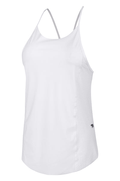 Wild Card Workout Tank - White